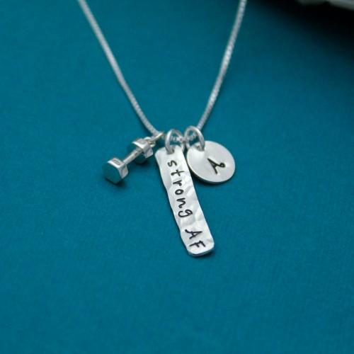 Strong AF Sterling Silver Necklace