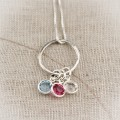 From Here to Eternity Birthstone Necklace