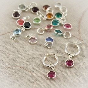 Birthstone Drops Only for Changeable Earrings