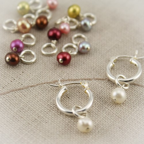 Pearl Drops Only for Changeable Earrings