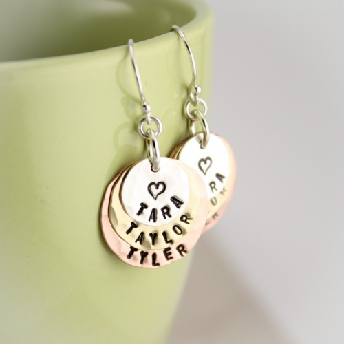 Layers of Love Earrings