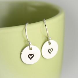Tiny Design Earrings