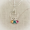 Eternal Love Necklace with Birthstones