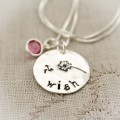 Make a Wish Dandelion Necklace with Birthstones