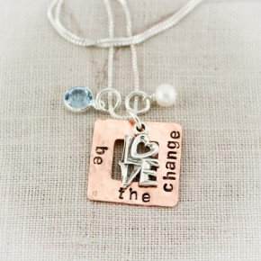 Design Your Own Square Washer Necklace