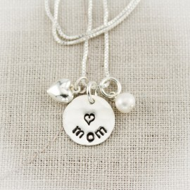 Mom Charm Necklace