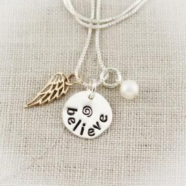 Believe Charm Necklace
