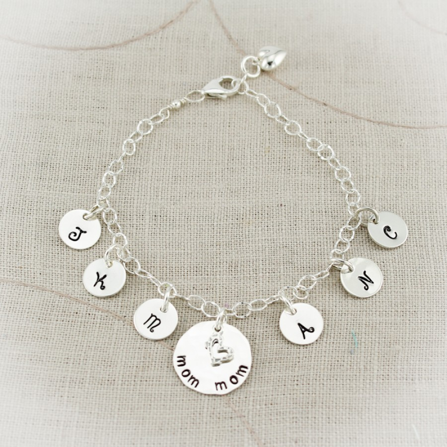 Lovely Letters Charm Anklet Personalized Anklet