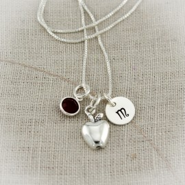Teach and Inspire Charm Necklace