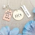 God Gave Me You Monogram Family Necklace