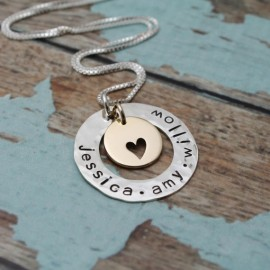 Surrounded by Love Necklace