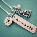 Namaste Buddha Yoga Necklace