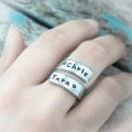 Ring of Love Personalized Wrap Ring