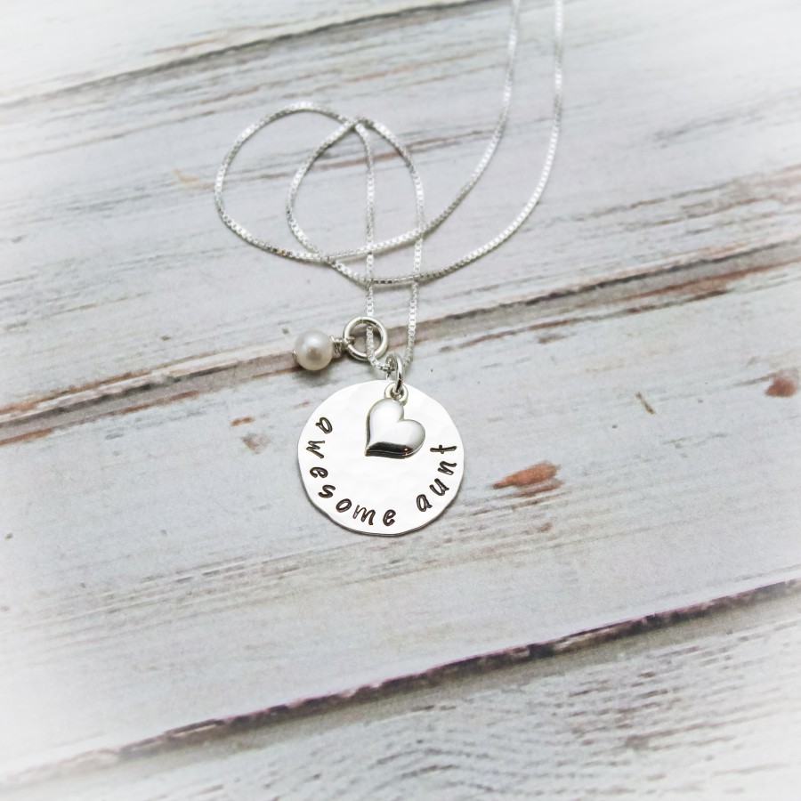 Awesome Aunt Necklace Necklace