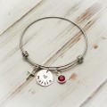 Have Faith Cross Bangle Bracelet