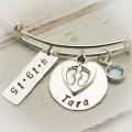 Bundle of Love New Baby Bangle Bracelet
