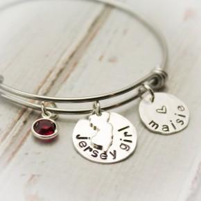 Jersey Girl Bangle Bracelet