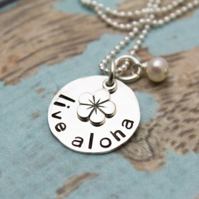 Live Aloha Charm Necklace