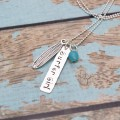 Surfer Girl Tag Necklace