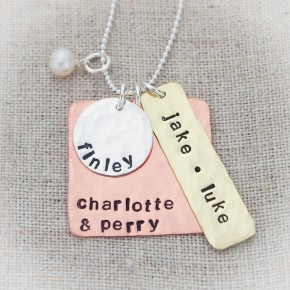 Elements of Love Family Necklace