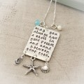May You Always Have A Shell in your Pocket Beach Necklace