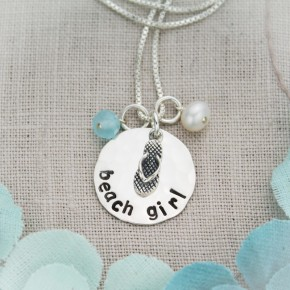 Beach Girl Necklace, Medium