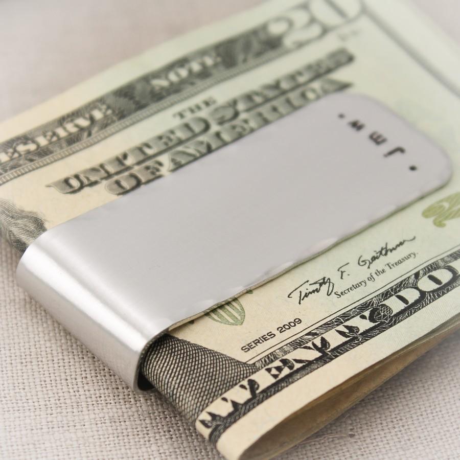 Personalized Men S Money Clip Money Clip