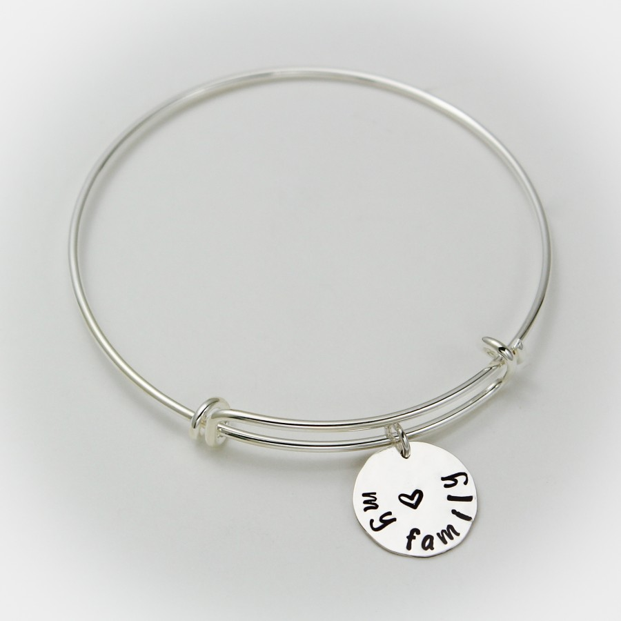 Personalized Beach Girl Bangle Bracelet Bangle