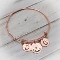 Grandmother or Mother Bangle Bracelet