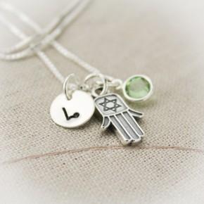 Hamsa Hand Charm Necklace