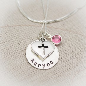 Faith and Love Necklace